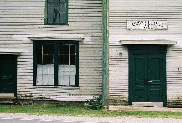 Oddfellows Hall  #2, Haven, ME 2007